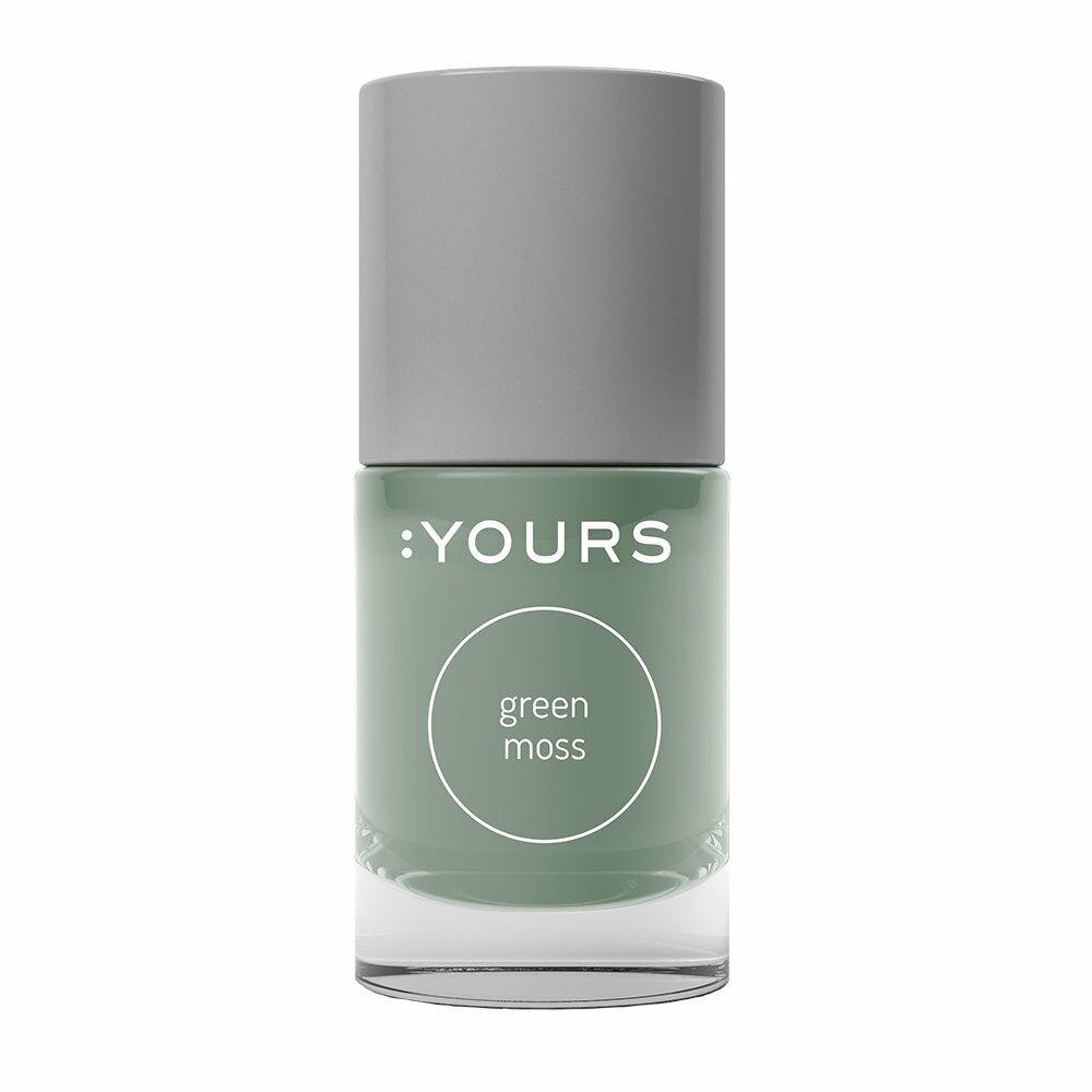 :YOURS Green Moss nyomdalakk