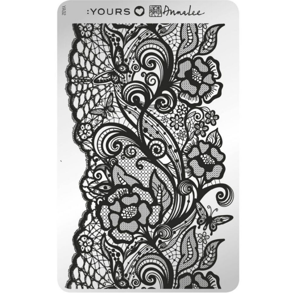 :YOURS Butterfly Lace  nyomdalemez