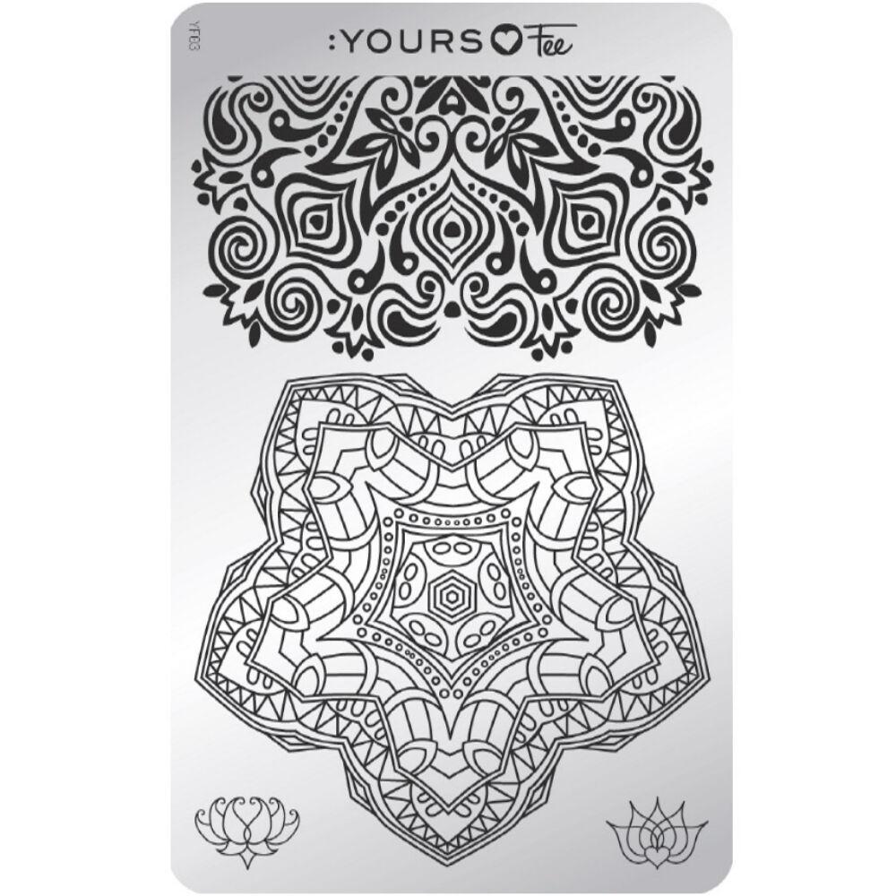 :YOURS Mindful Mandala nyomdalemez