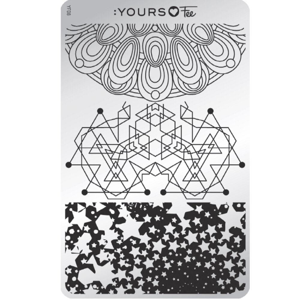 :YOURS Sacred Shapes nyomdalemez
