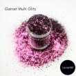 Lecenté Garnet Multi Glitz