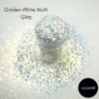 Lecenté Golden White Multi Glitz