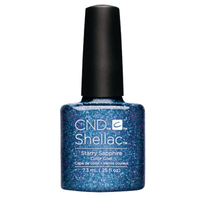 CND Shellac Starry Sapphire