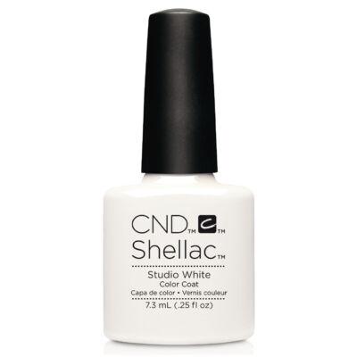 CND Shellac Studio White