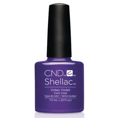 CND Shellac Video Violet