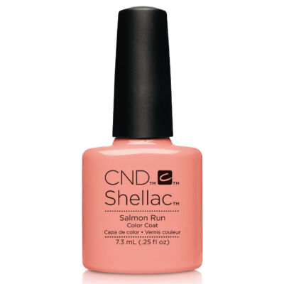 CND Shellac Salmon Run