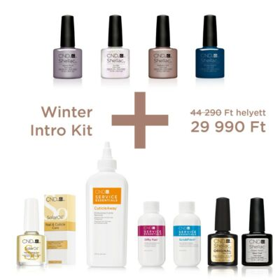 CND SHELLAC Winter Kezdőcsomag
