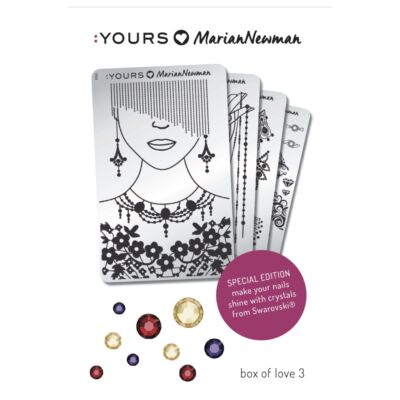 :YOURS Loves Marian – Box of Love 3, ajándék Swarovski kristállyal