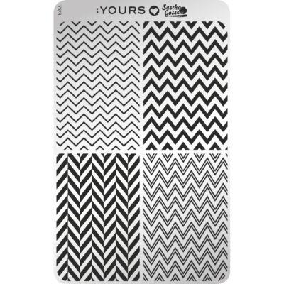 :YOURS Edgy Zebra  nyomdalemez