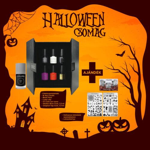 Halloween csomag ajándék kétoldalú nyomdalemezzel - LIMITÁLT!
