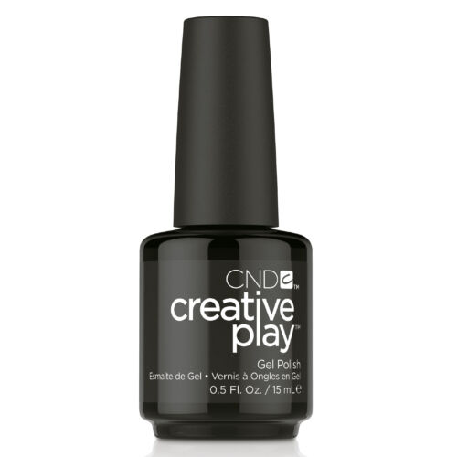 Creative Play Gel Polish gél lakk #451 Black Forth 15 ml