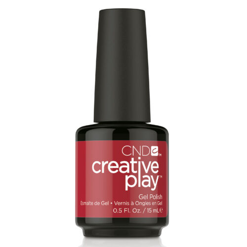 Creative Play Gel Polish #412 Red Y To Roll 15 ml
