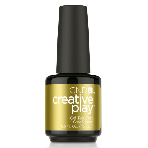 Creative Play Gel Polish gél lakk Top Coat 15 ml