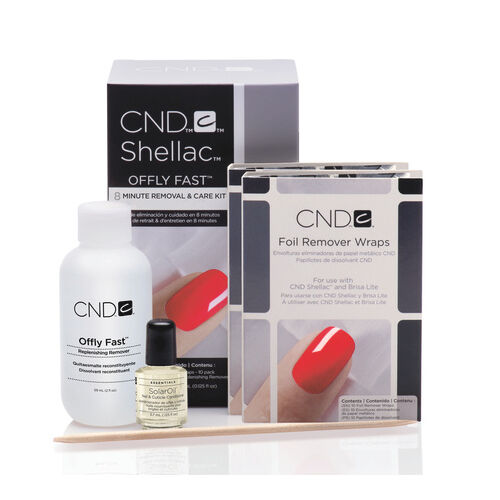 CND Shellac Offly Fast Kit