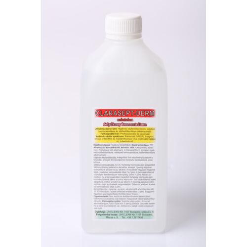 Clarasept- DERM kéz és bőrfertőtlenítő szer 1000 ml színtelen utántöltő