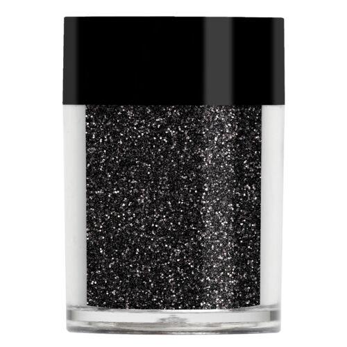 Lecenté Black Ultra Fine Glitter