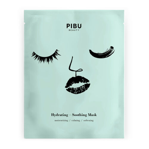 PIBU Beauty hidratáló-nyugtató arcmaszk