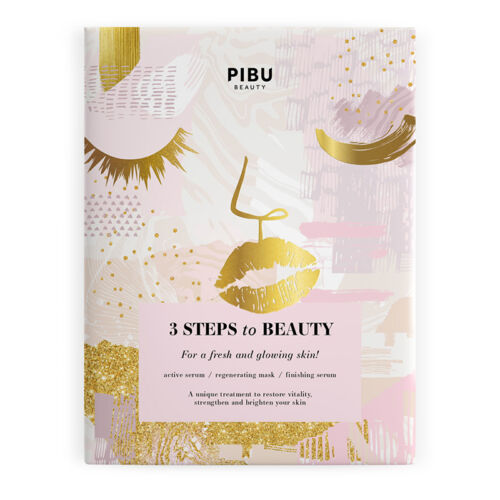 PIBU BEAUTY 3 Steps to Beauty - 3 lépéses arcmaszk