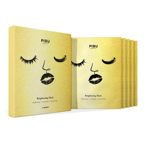PIBU Beauty bőrmegújító arcmaszk szett- 5DB