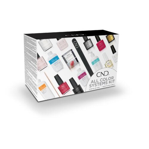CND All Color Systems Kit Shellac és Vinylux kezdőszett