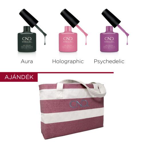 CND Shellac PRISMATIC csomag AJÁNDÉK táskával