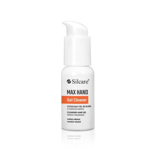 Silcare Max Hand Gel Cleaner zselé állagú kéztisztító 50 ml
