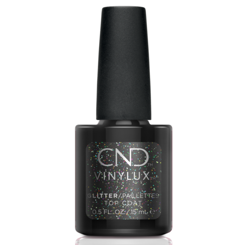 CND Vinylux Glitter Effect Top Coat