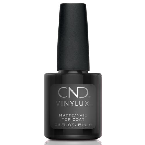 CND Vinylux tartós körömlakk Matte Effect Top Coat fedőlakk - doboz nélküli