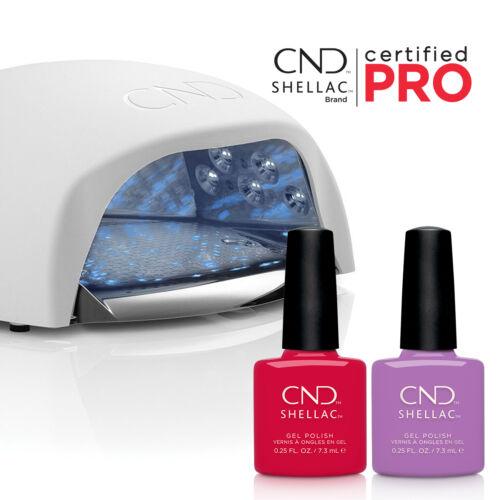 CND Shellac színbővítő csomag ajándék CND LED lámpával és Shellac PRO képzéssel