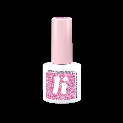 hi hybrid gél lakk Glitter Ballet Slipper #134