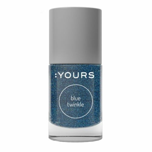:YOURS Blue Twinkle nyomdalakk