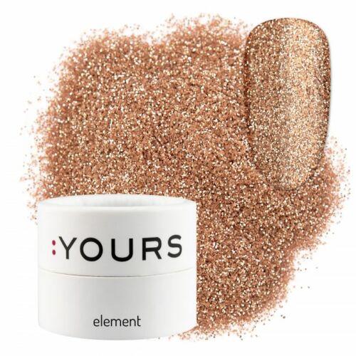 :YOURS Element Eco Glitter – Bronze Secret