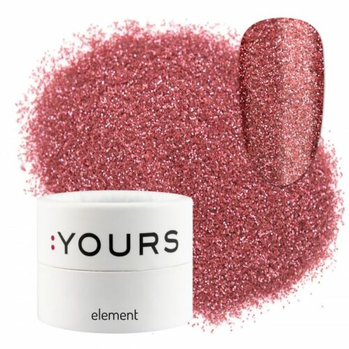 :YOURS Element Eco Glitter – Pink Sweetness