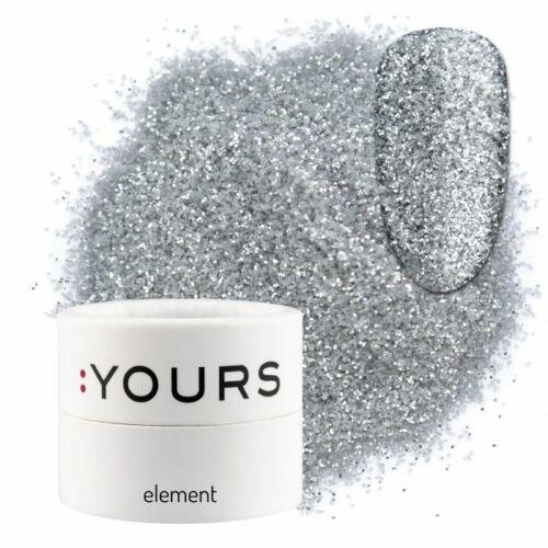 :YOURS Element Eco Glitter – Silver Shine