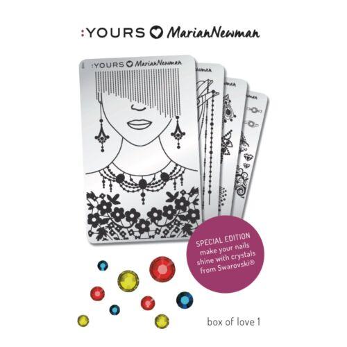 :YOURS Loves Marian – Box of Love 1, ajándék Swarovski kristállyal